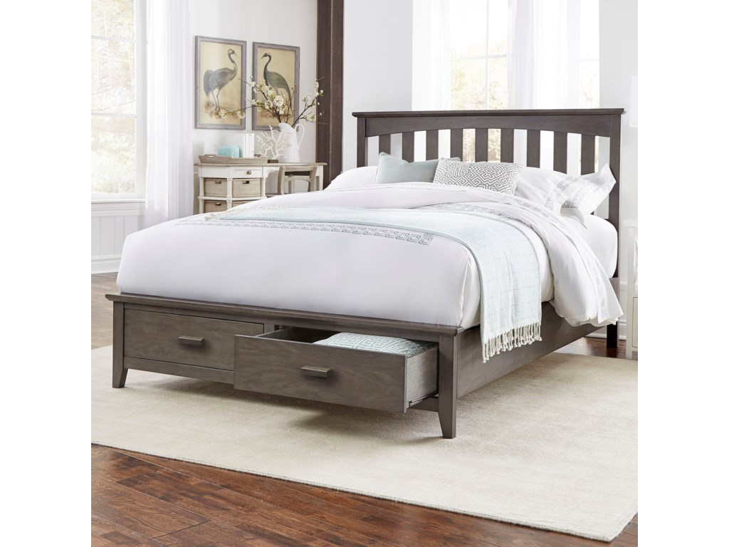 Fashion Bed Group HamptonQueen Hampton Storage Bed