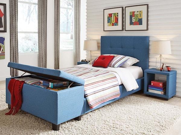 Twin Henley Storage Bedroom Group