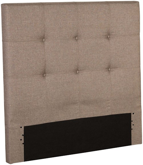 Fashion Bed Group Henley Full Henley Upholstered Kids Headboard Panel with Button Tufted Design