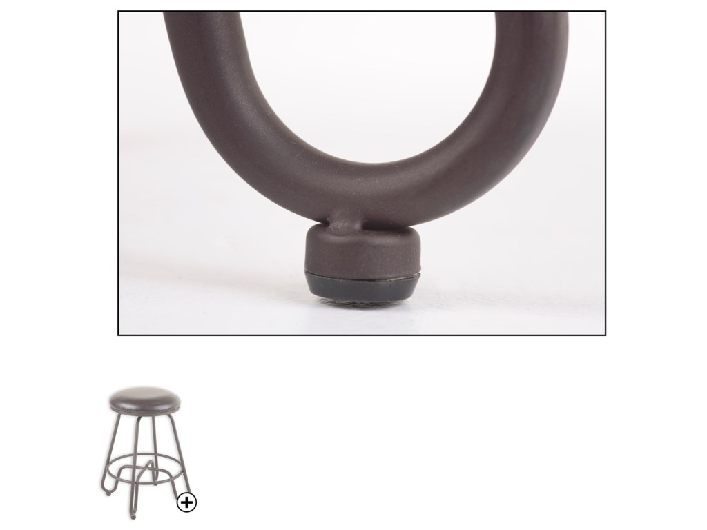 Fashion Bed Group Metal BarstoolsDenver Metal Barstool
