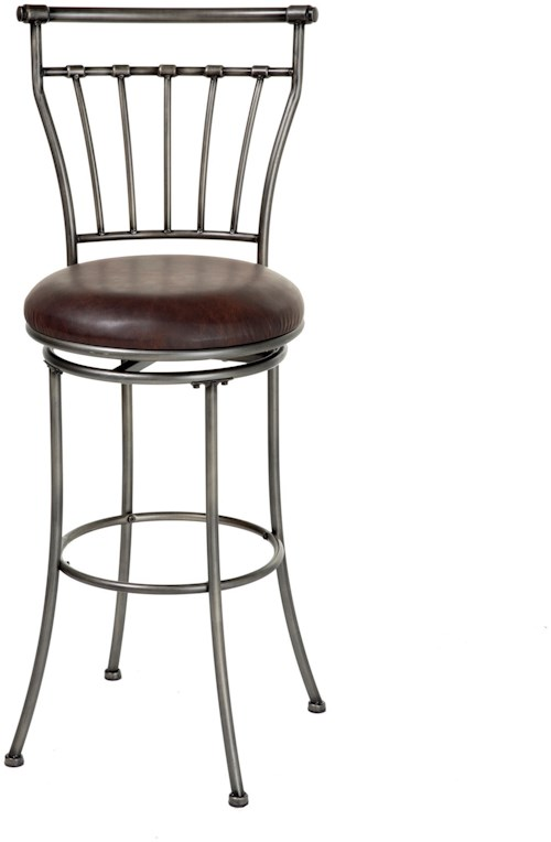 Fashion Bed Group Metal Barstools Transitional Topeka Metal Barstool