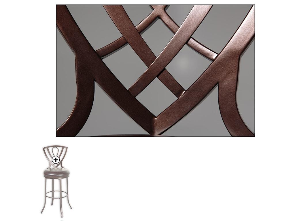 Fashion Bed Group Metal BarstoolsLincoln Metal Barstool