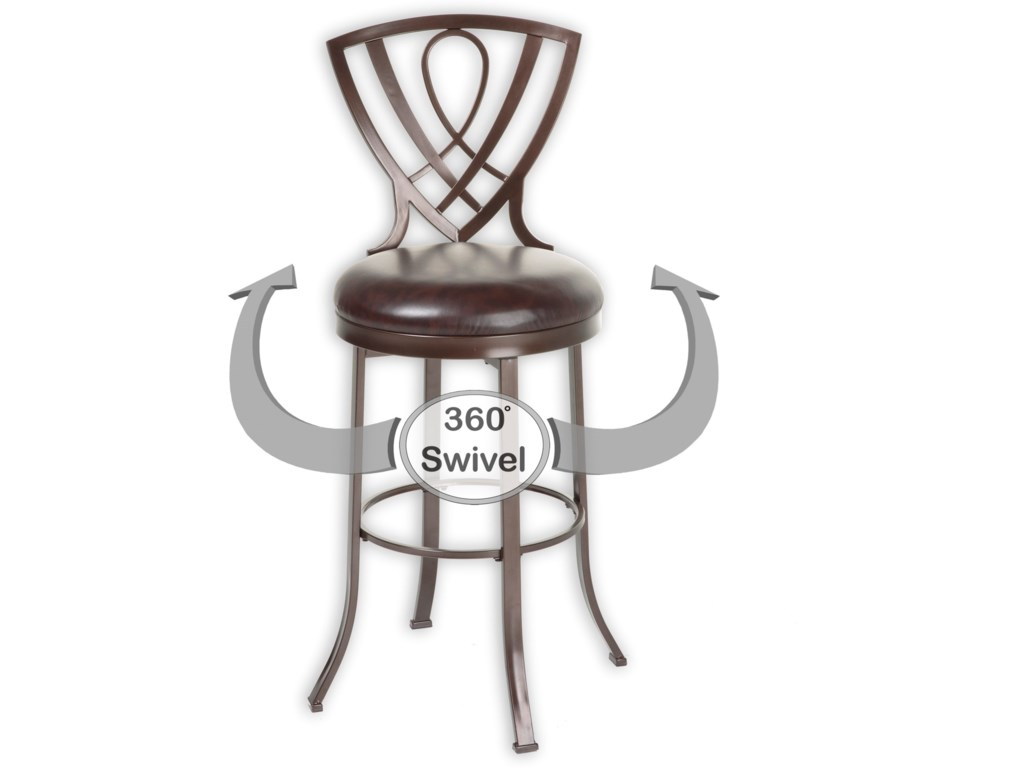 Fashion Bed Group Metal BarstoolsLincoln Metal Barstool