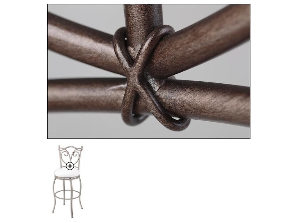 Fashion Bed Group Metal BarstoolsRaleigh Metal Barstool