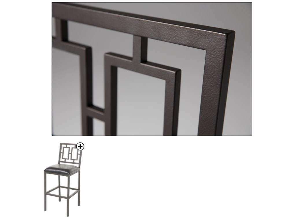 Fashion Bed Group MetalLansing Barstool