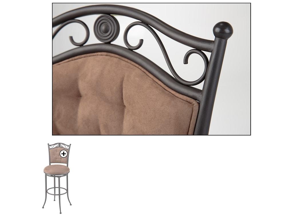 Fashion Bed Group Metal BarstoolsHelena Metal Barstool