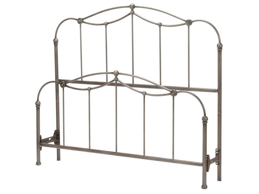 Fashion Bed Group Metal BedsKing Affinity Bed
