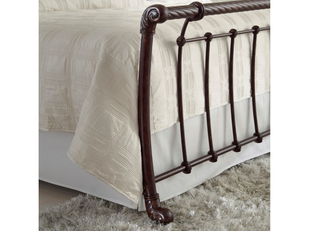 Fashion Bed Group Metal BedsQueen Legion Headboard and Footboard