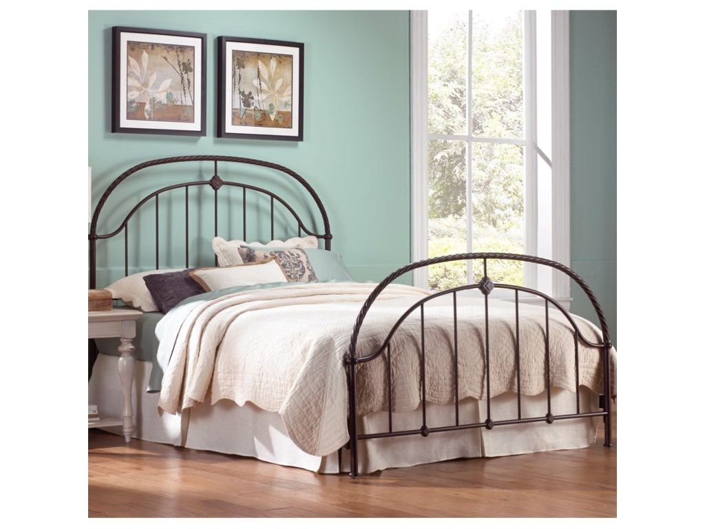 Fashion Bed Group Metal BedsKing Cascade Headboard and Footboard
