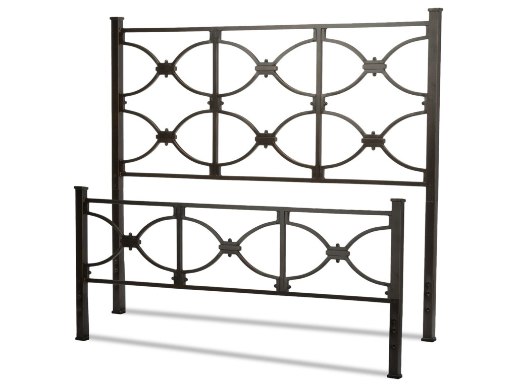 Fashion Bed Group Metal BedsQueen Marlo Headboard and Footboard