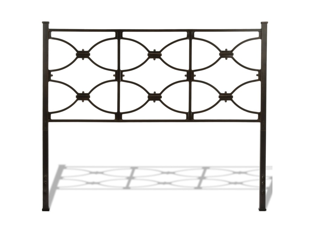 Fashion Bed Group Metal BedsKing Marlo Headboard and Footboard