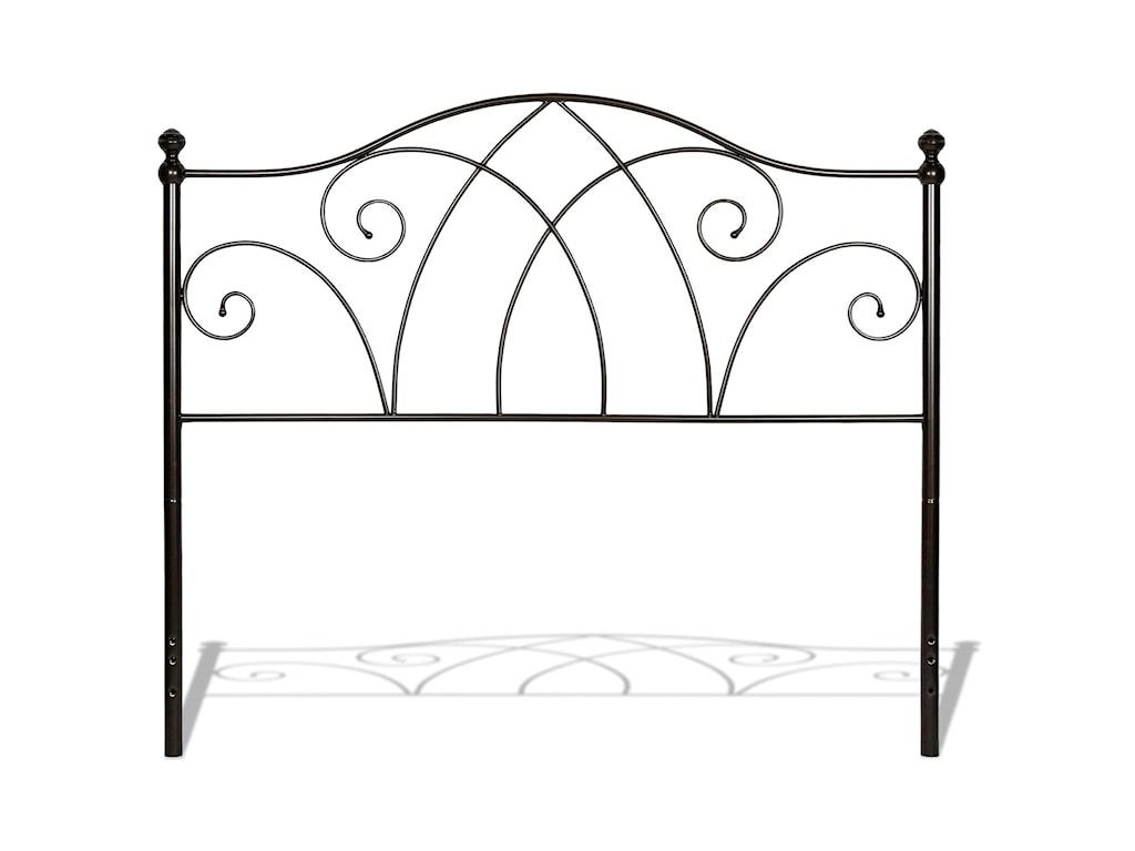 Fashion Bed Group Metal BedsKing Deland Bed