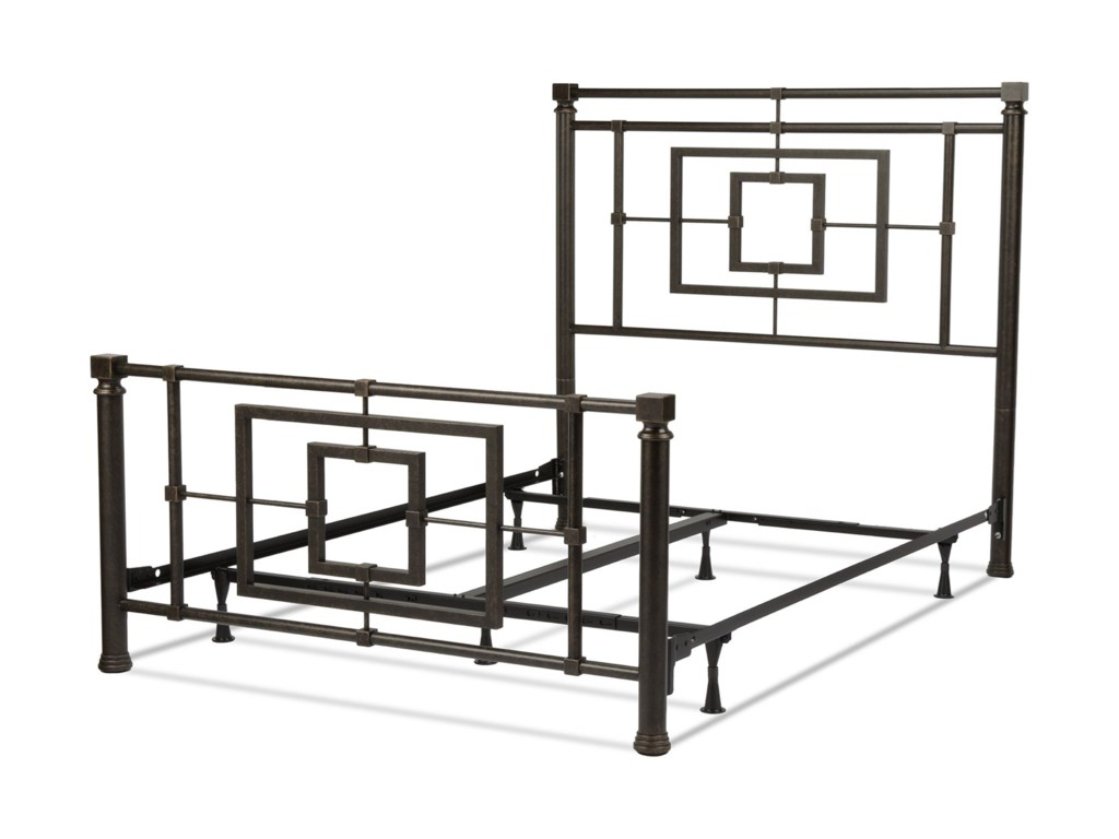 Fashion Bed Group Metal BedsCal King Sheridan Bed