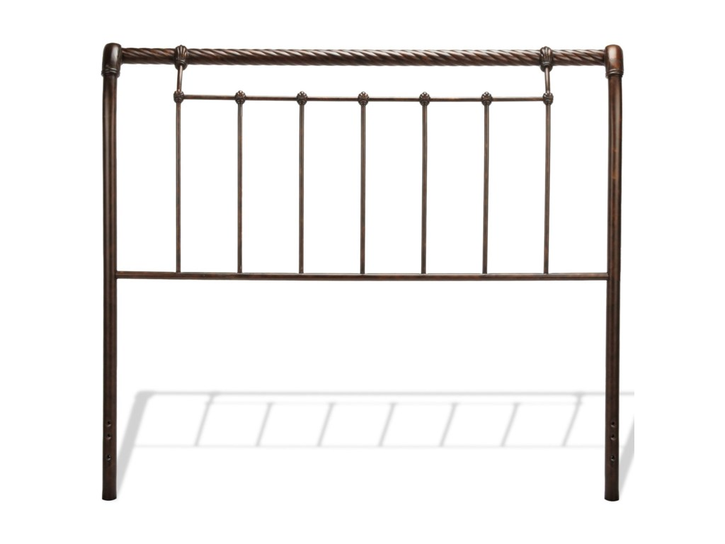 Fashion Bed Group Metal BedsQueen Legion Bed w/ Frame