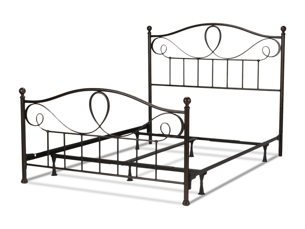 Fashion Bed Group Metal BedsCalifornia King Sylvania Bed w/ Frame