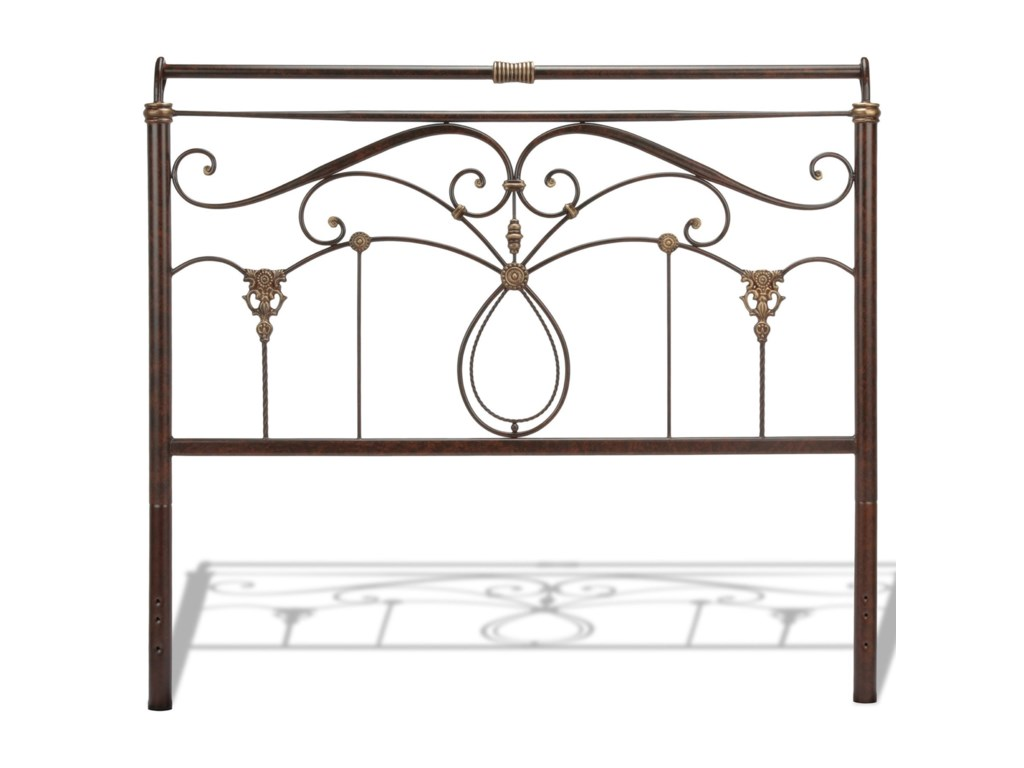 Fashion Bed Group Metal BedsFull Lucinda Bed w/ Frame