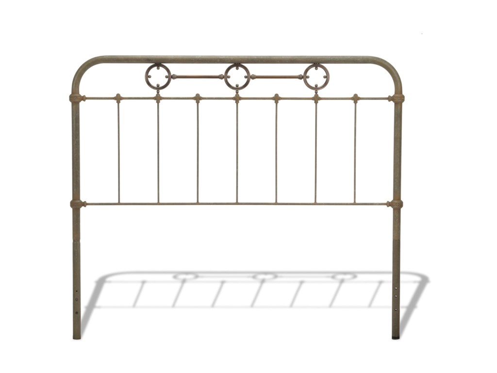Fashion Bed Group Metal BedsQueen Metal Ornamental Bed