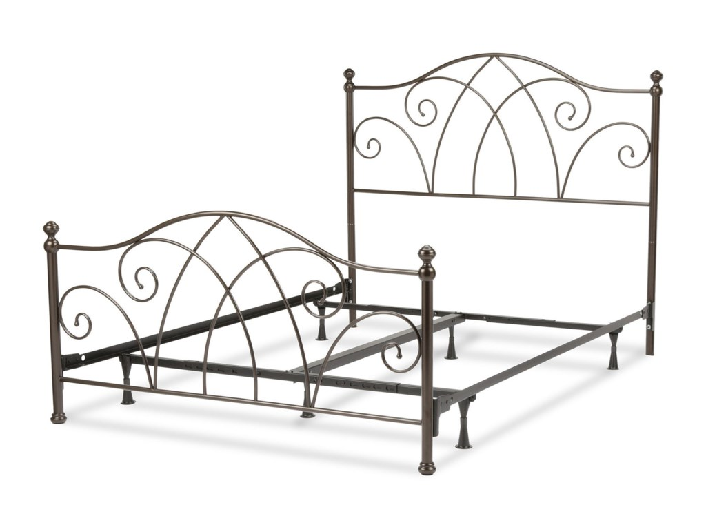 Fashion Bed Group Metal BedsQueen Deland Bed