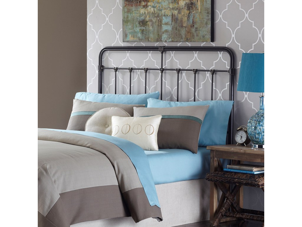 Fashion Bed Group Metal BedsKing Fairfield Headboard