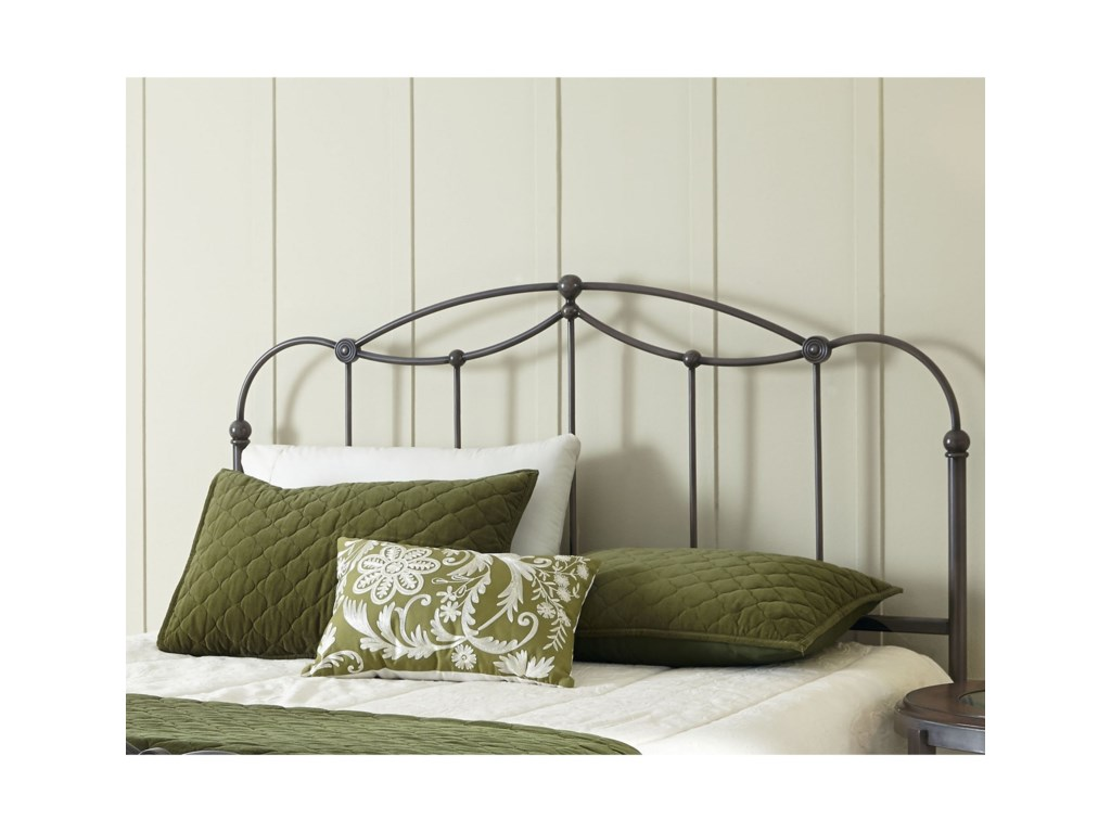 Fashion Bed Group Metal BedsFull Metal Headboard
