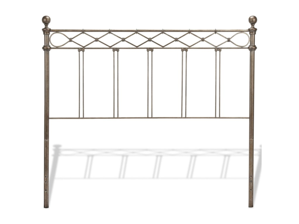 Fashion Bed Group Metal BedsFull Argyle Headboard