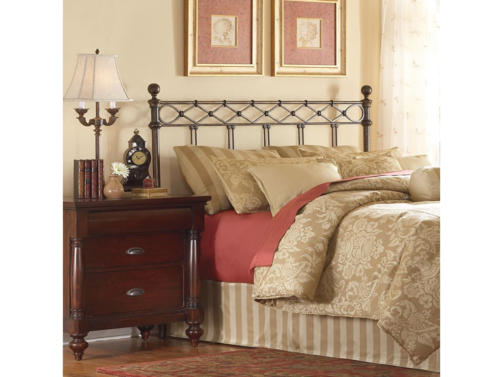 Fashion Bed Group Metal BedsKing Headboard