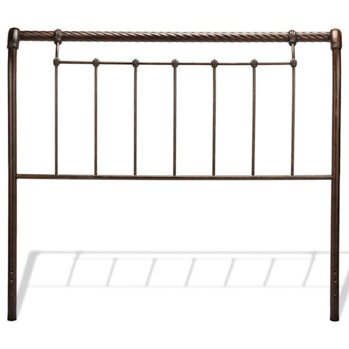 Fashion Bed Group Metal Beds King Legion Headboard