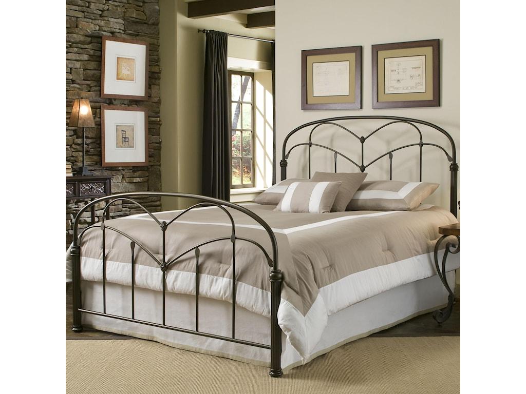Headboard Shown in Bed Setting