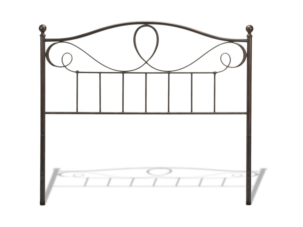Fashion Bed Group Metal BedsFull Sylvania Headboard