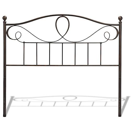 Fashion Bed Group Metal Beds Full Sylvania Headboard