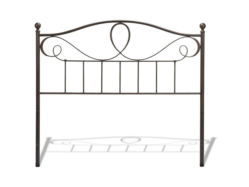 Fashion Bed Group Metal BedsKing/California King Sylvania Headboard
