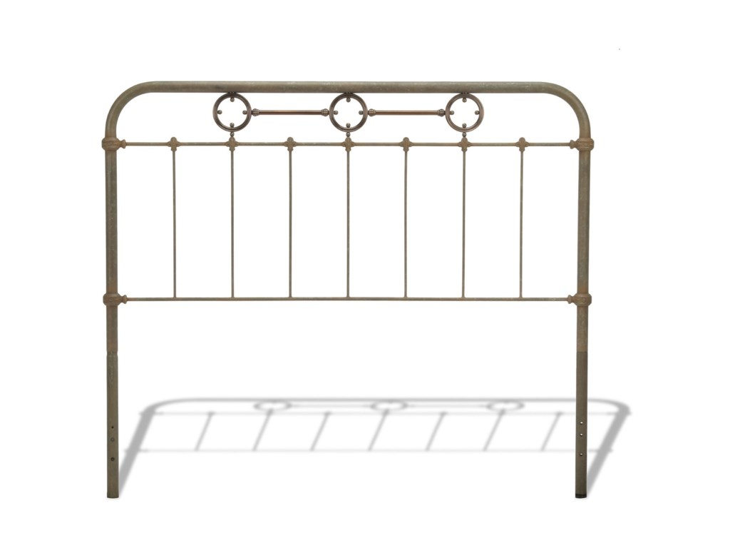Fashion Bed Group Metal BedsKing Metal Headboard