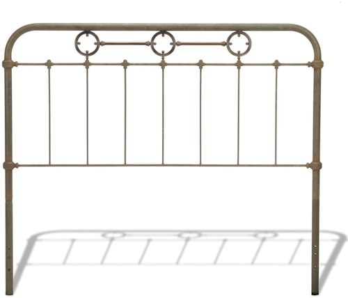 Fashion Bed Group Metal Beds California King Transitional Madera Metal Headboard