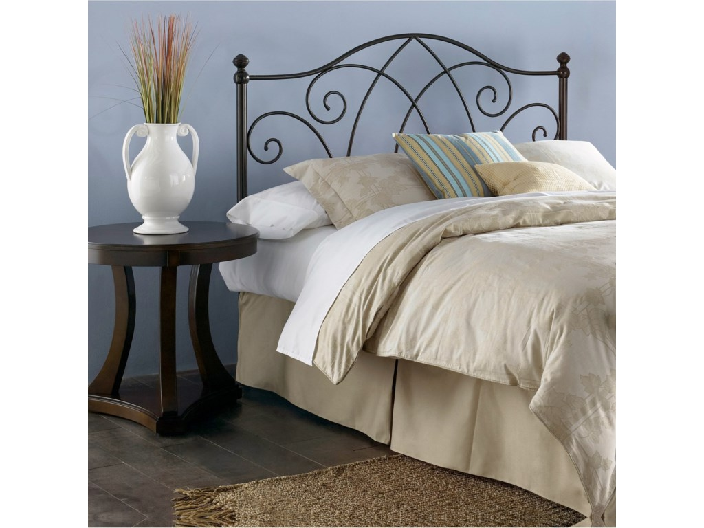 Fashion Bed Group Metal BedsFull Deland Headboard