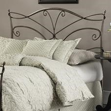 Fashion Bed Group Metal Beds King Papillon Headboard