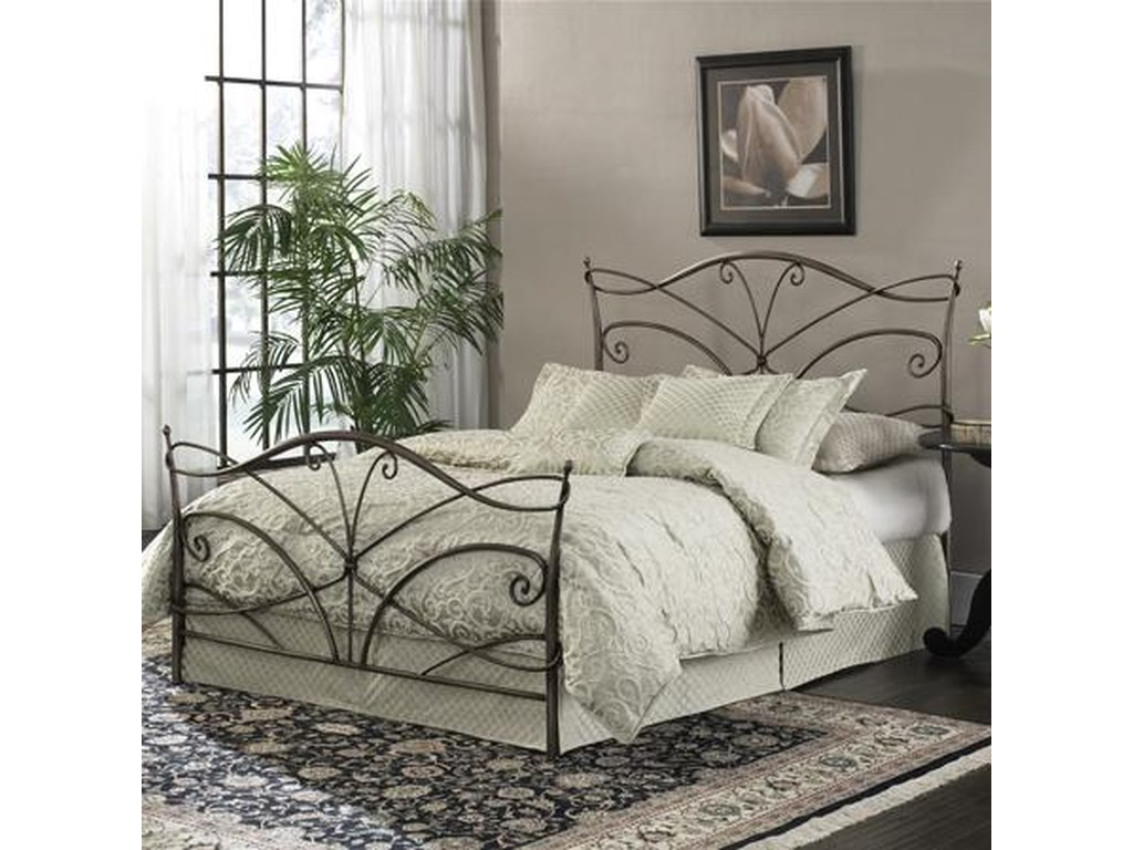 Fashion Bed Group Metal BedsFull Papillon Headboard