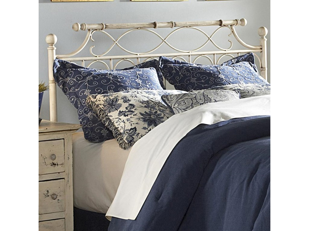 Fashion Bed Group Metal BedsKing Chester Headboard