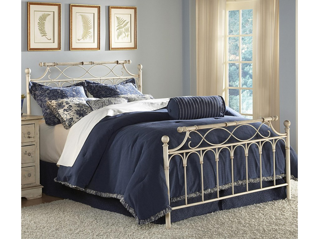 Fashion Bed Group Metal BedsKing Chester Duo Panel