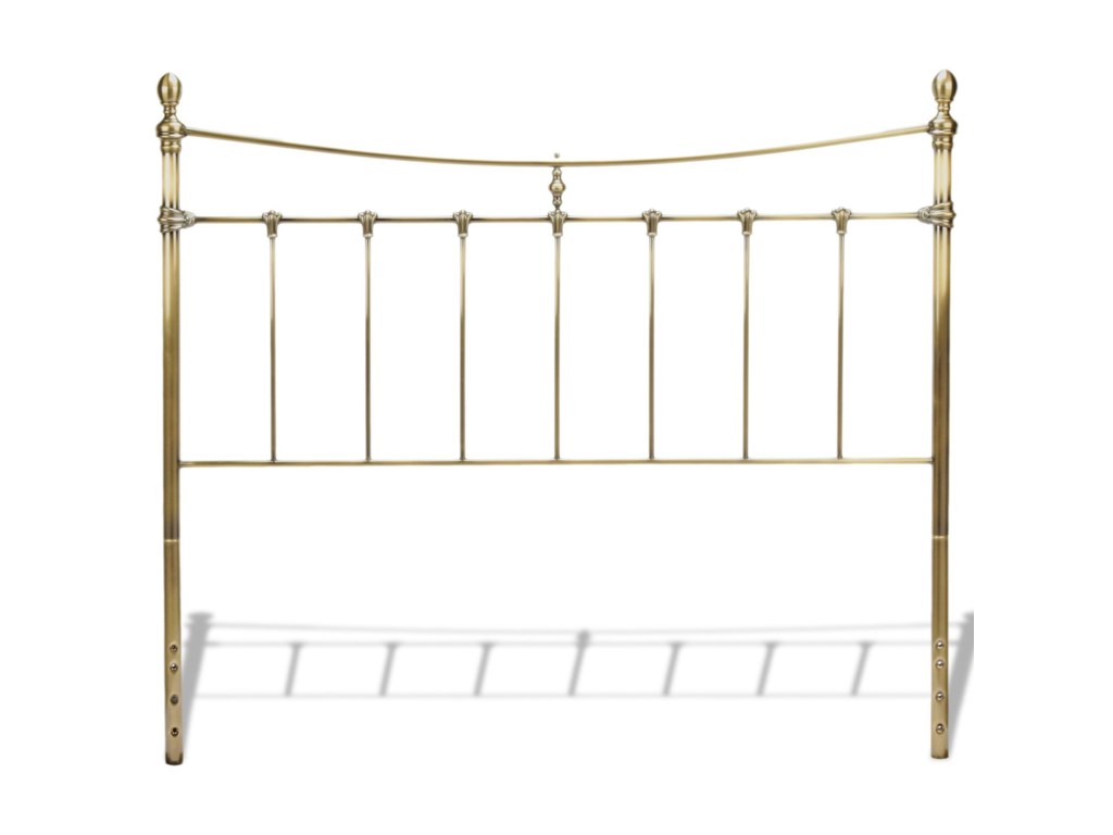 Fashion Bed Group Metal BedsQueen Leighton Bed Without Frame