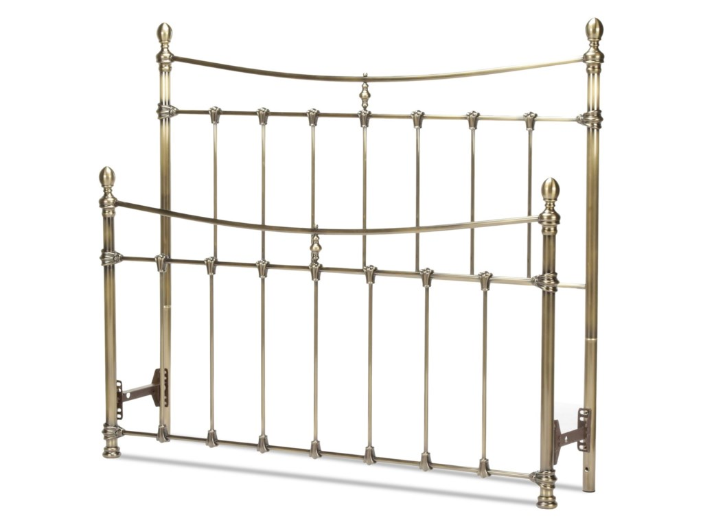 Fashion Bed Group Metal BedsCal King Headboard and Footboard