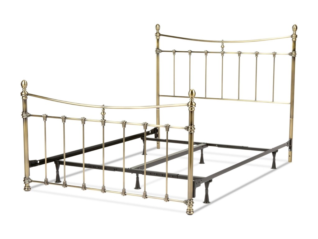 Fashion Bed Group Metal BedsKing Leighton Bed