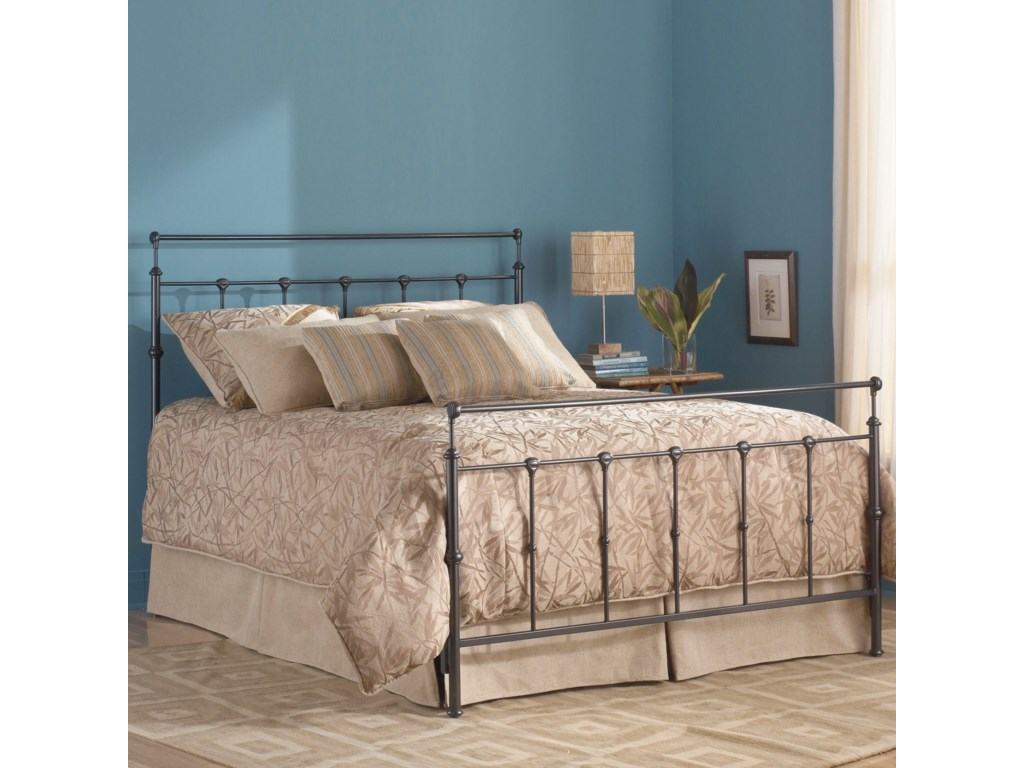 Fashion Bed Group Metal BedsTwin Winslow Headboard and Footboard