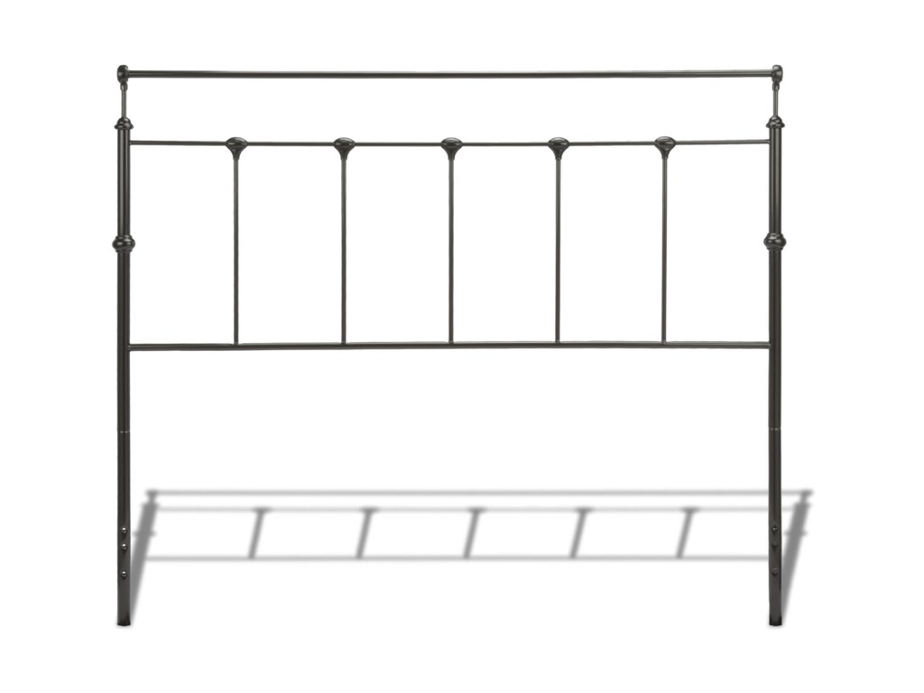 Fashion Bed Group Metal BedsKing Winslow Headboard and Footboard