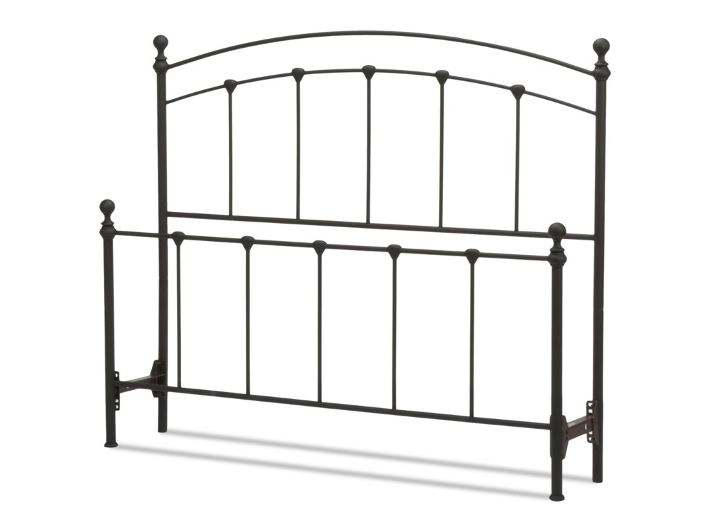 Fashion Bed Group Metal BedsFull Sanford Headboard and Footboard