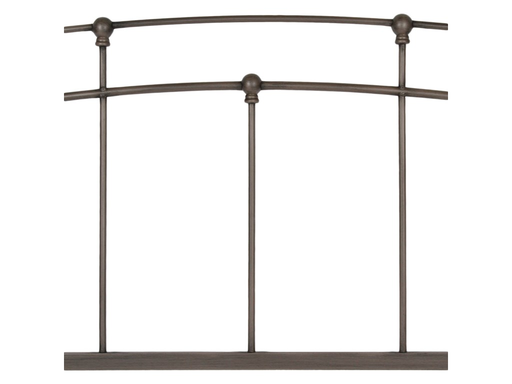 Fashion Bed Group Metal BedsKing Fenton Metal Bed