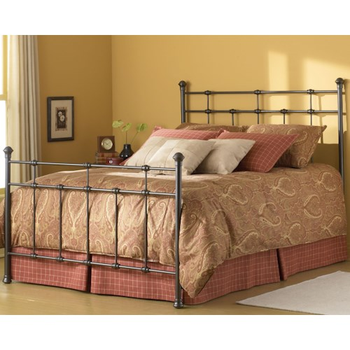 Fashion Bed Group Metal Beds Queen Dexter Bed