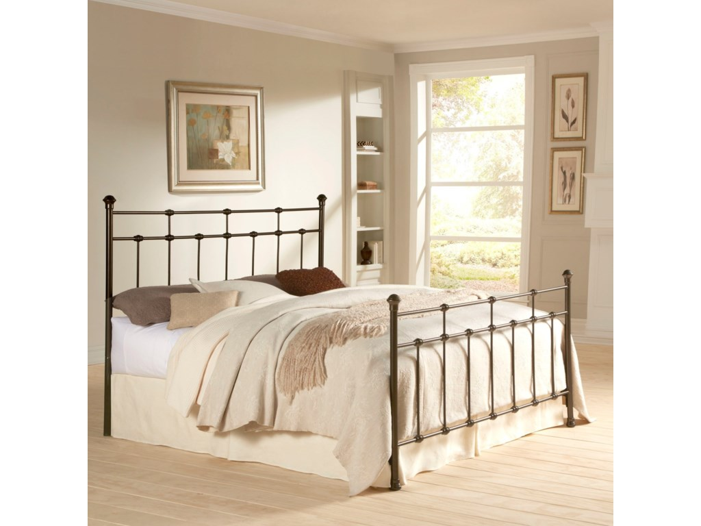 Fashion Bed Group Metal BedsKing Davis Bed w/ Frame