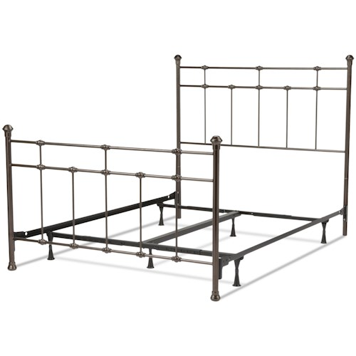 Fashion Bed Group Metal Beds California King Dexter Bed w/ Frame