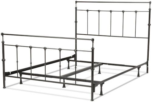 Fashion Bed Group Metal Beds Full Winslow Bed w/ Frame