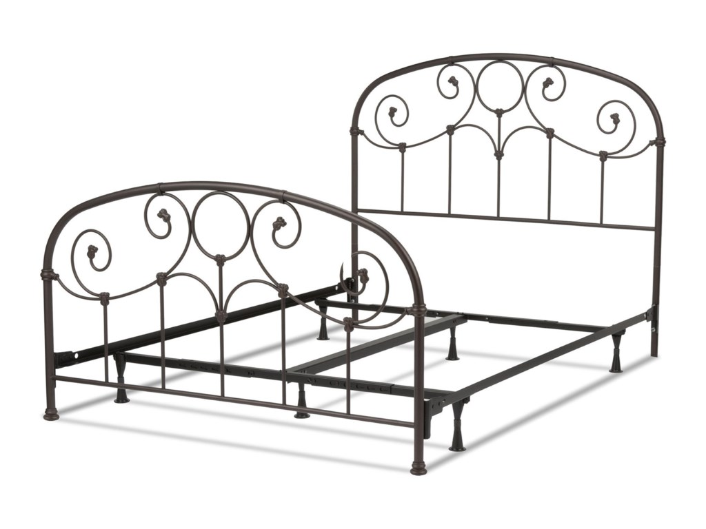 Fashion Bed Group Metal BedsTwin Grafton Metal Bed with Frame